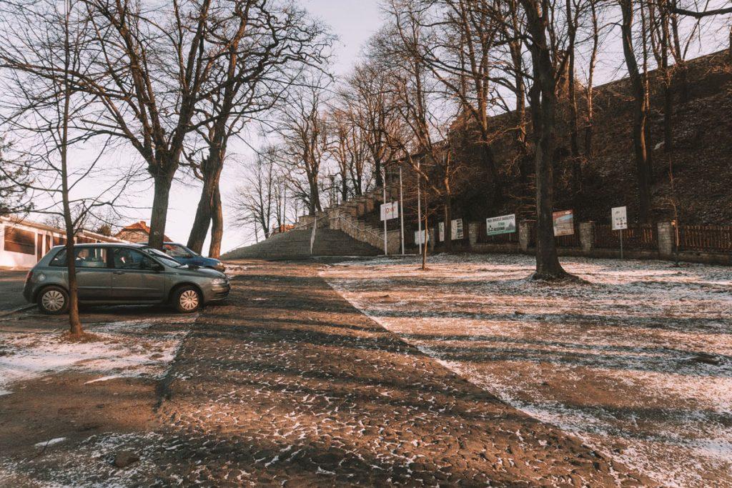 gora swietej anny parking