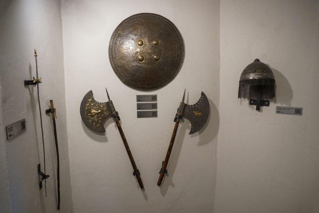 militaria w muzeum ziemi prudnickiej