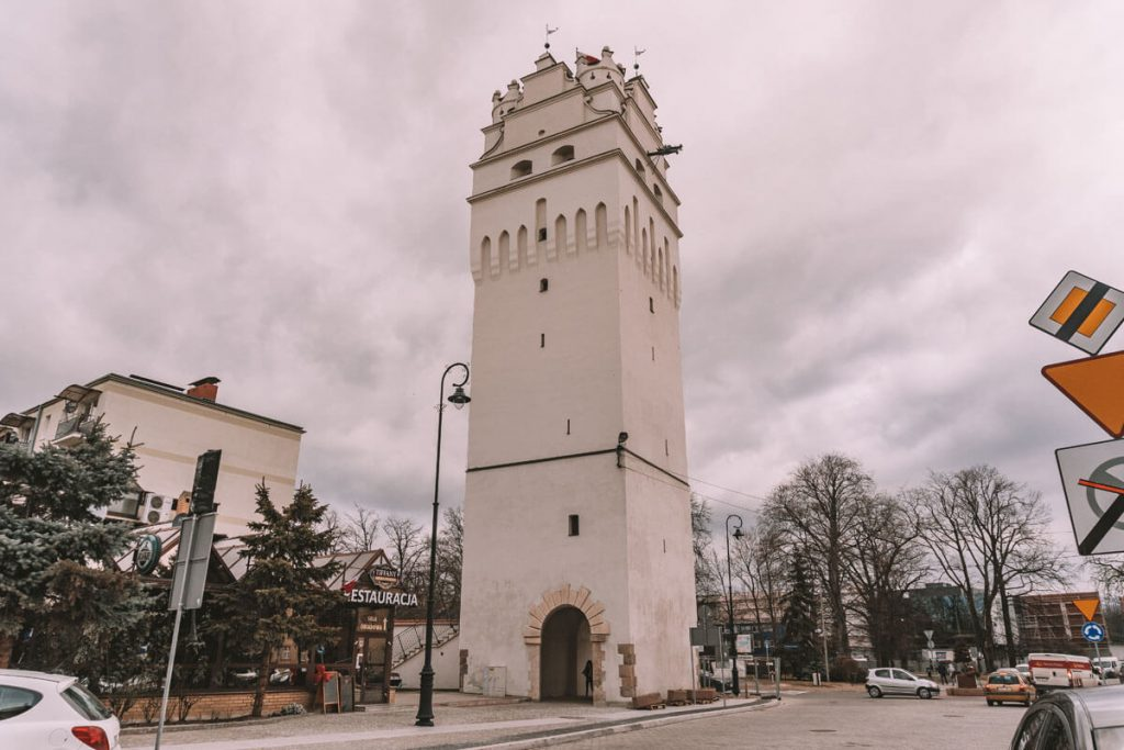 wieza bramy wroclawskiej