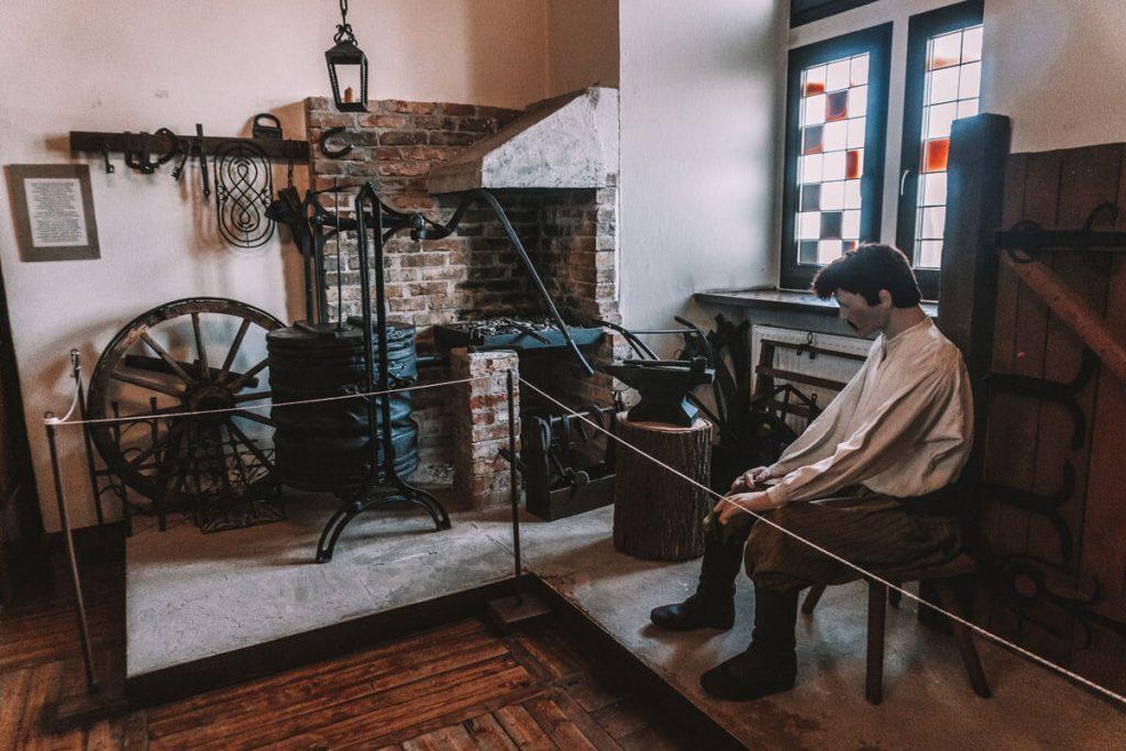 zamek leczyca wystawa