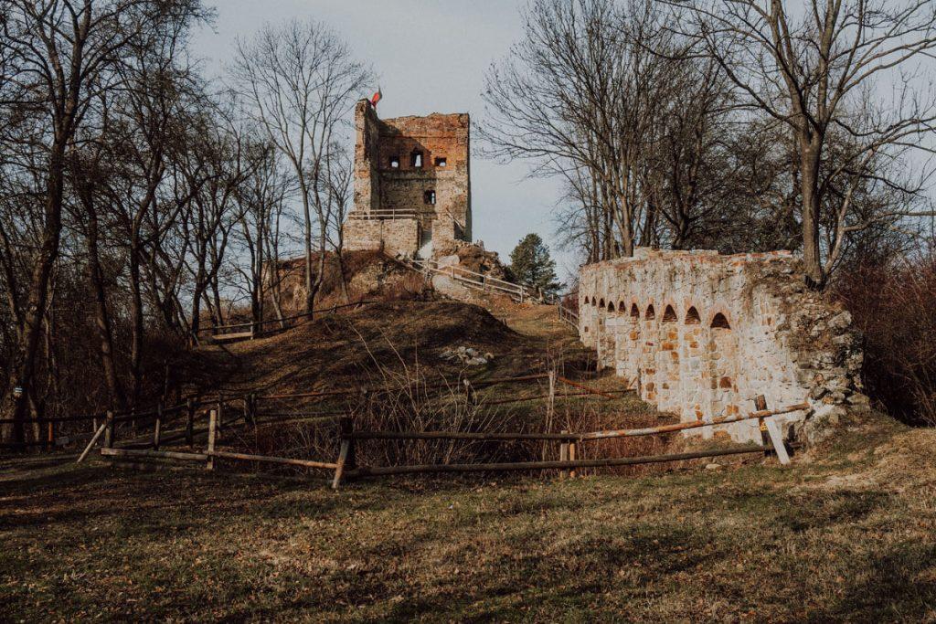 zamek melsztyn