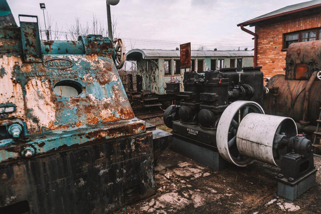 zdunska wola skanen lokomotyw