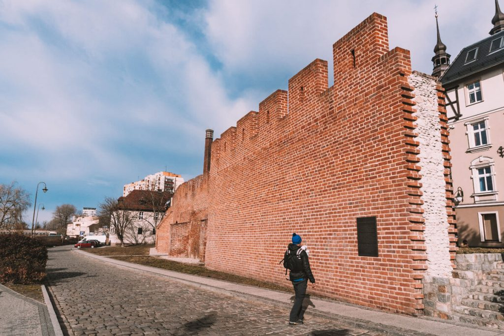 mury zamkowe w opolu