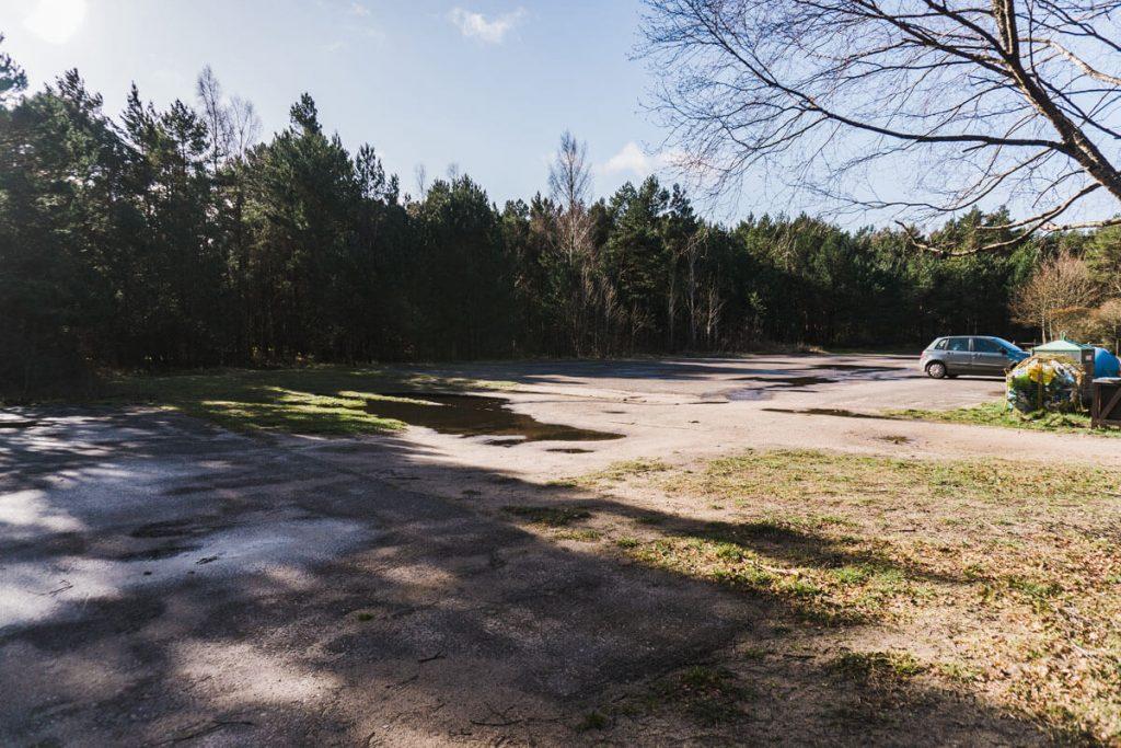 parking slowinski park
