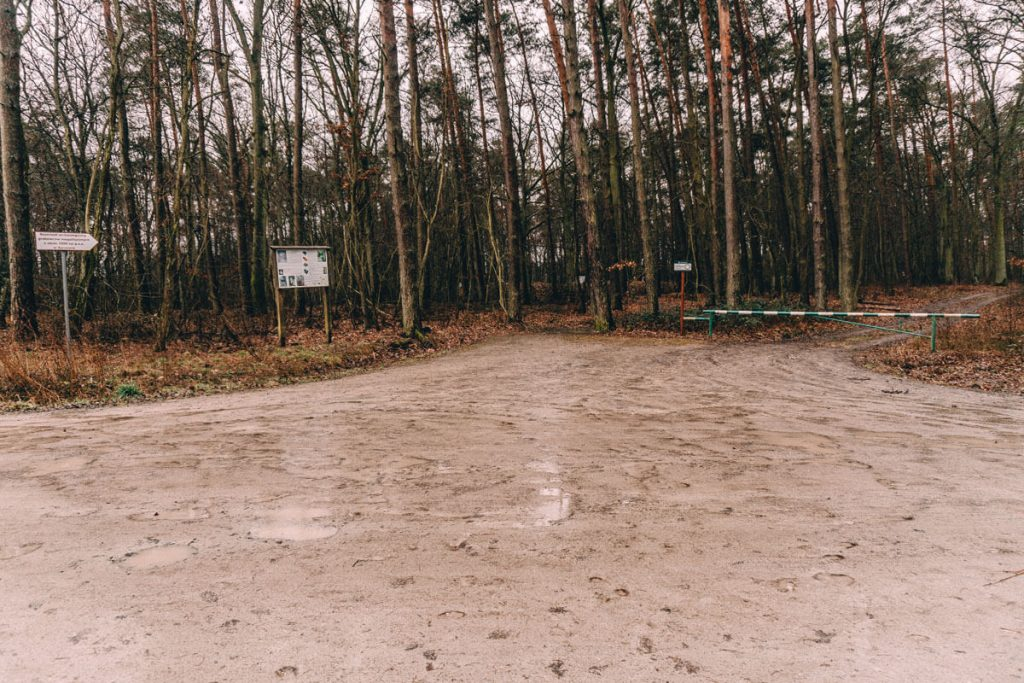 sarnowo parking