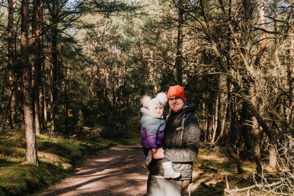 slowinski park narodowy dziecko