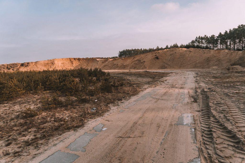 wydma w kosowcu
