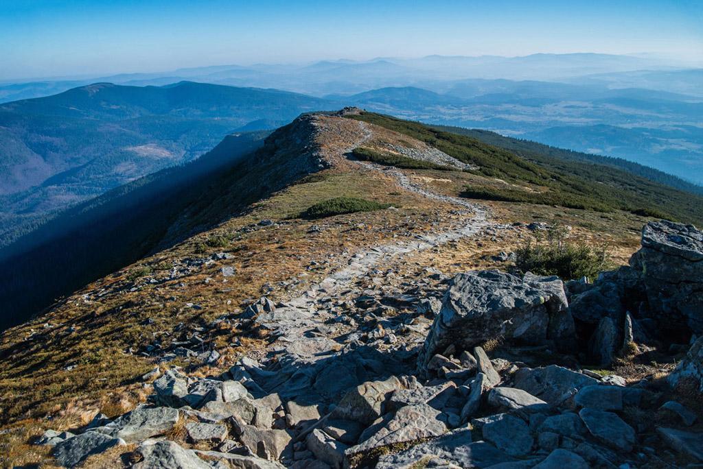Babia Góra - szlak w Beskidzie Żywieckim