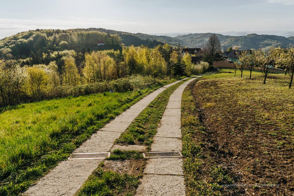 Szlak zółty - Łopusze
