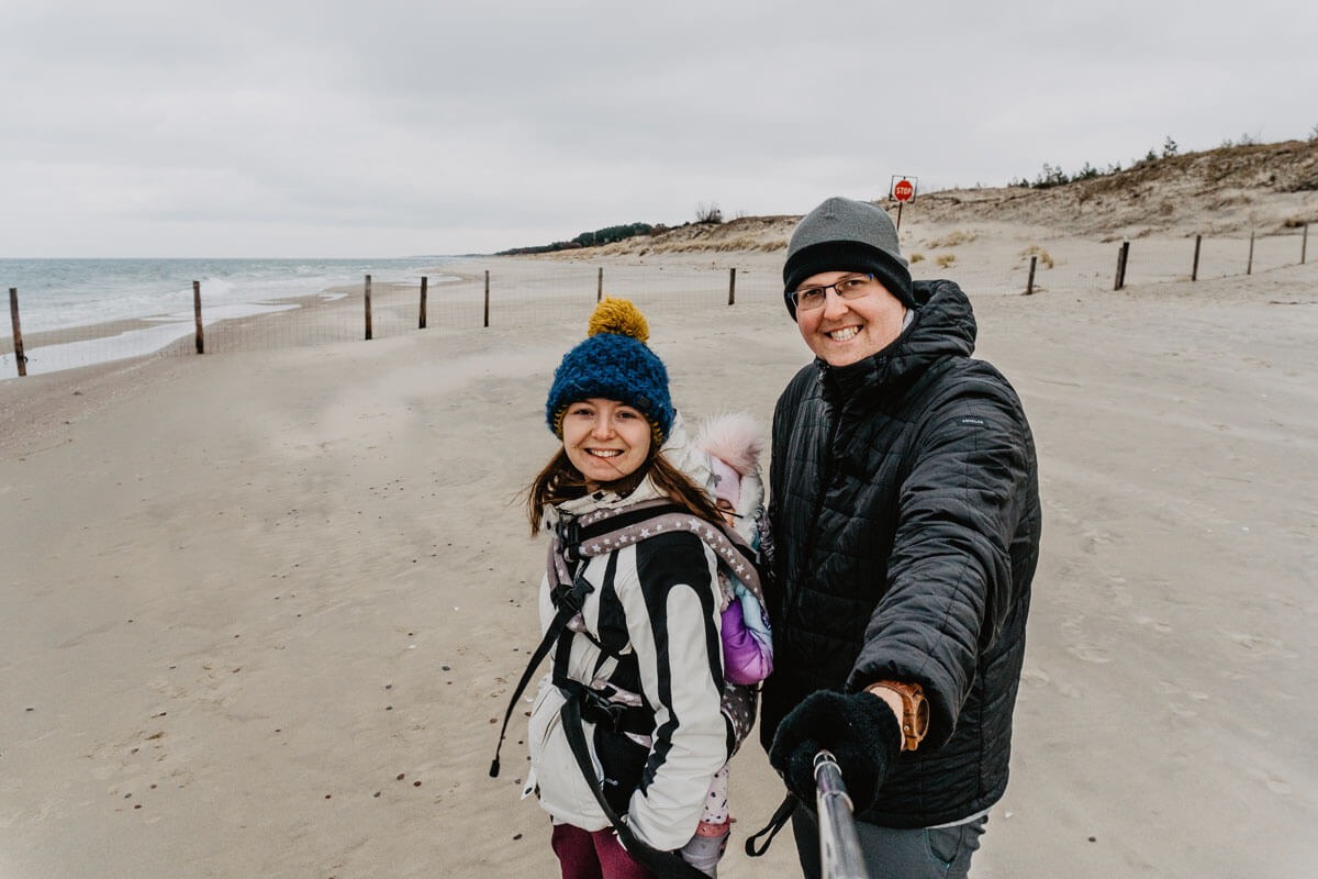 Granica z Rosją nad Morzem Bałtyckim | Krynica Morska - Piaski