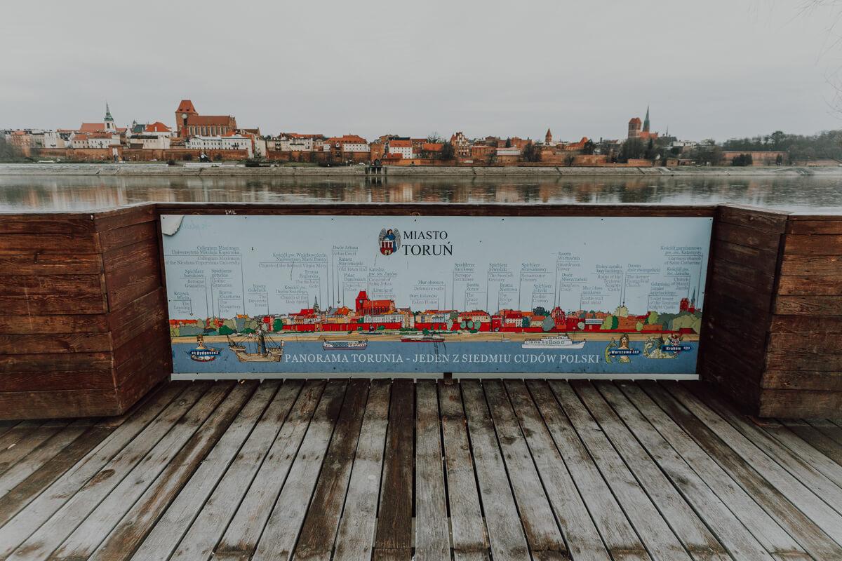 Platforma widokowa - Panorama Torunia
