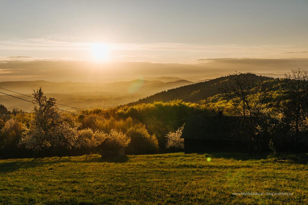 Dobrociesz - wschód słońca
