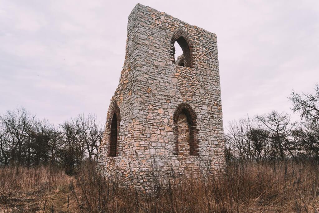 Rożniątów - Ruiny
