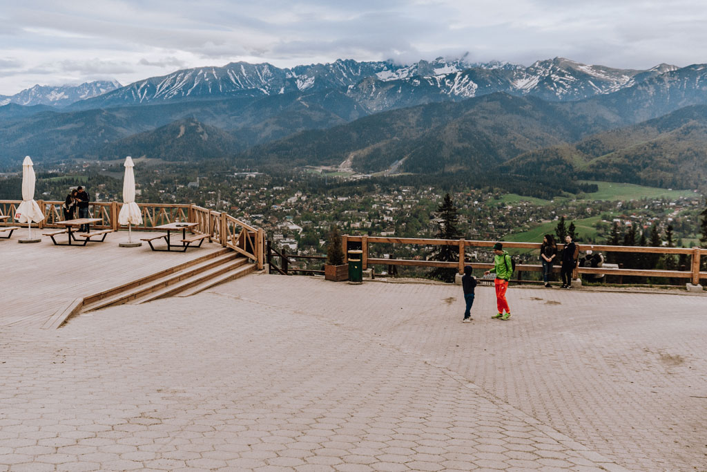 Zderzenie na granicy Kocieliska i Zakopanego (zdjcia) -