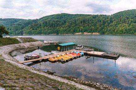 Największe atrakcje nad Jeziorem Rożnowskim