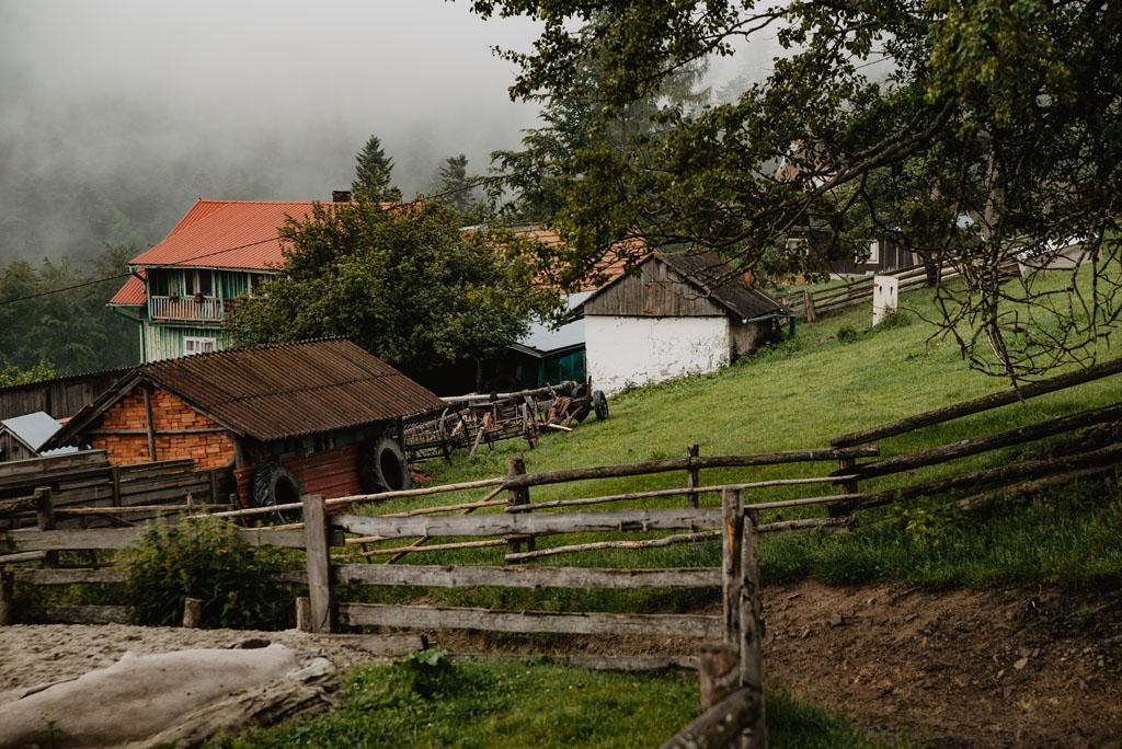 Przełęcz Przysłop, Kuba i Rokita - opis szlaku z Obidzy