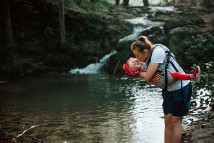 Dolina Będkowska - atrakcja Wodospad Szum