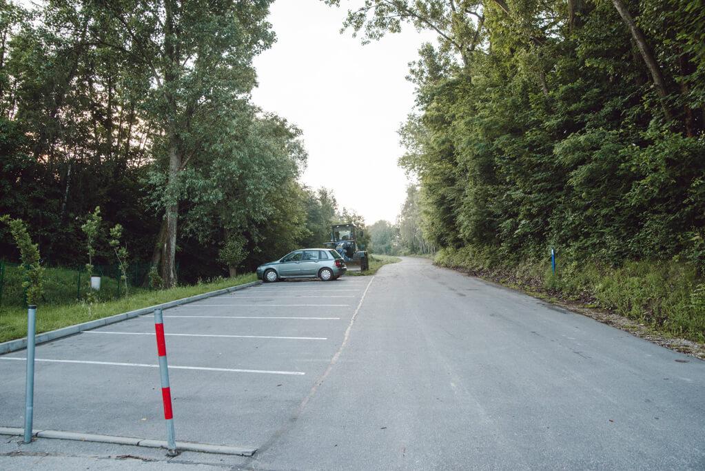 Dolina Nielepicka - parking