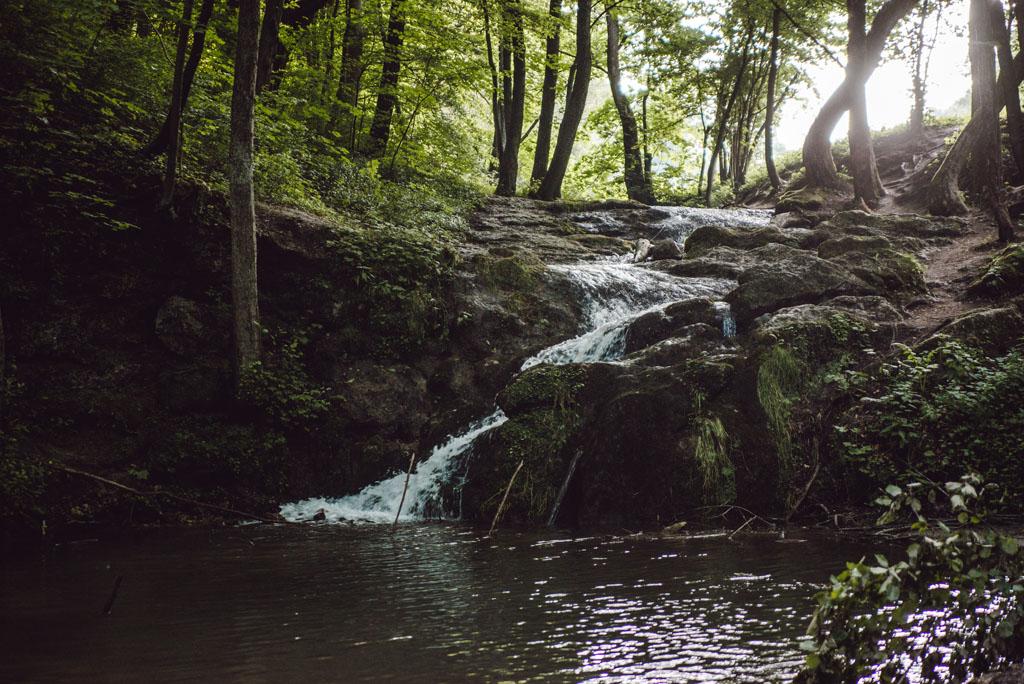 Najwyższy wodospad Wyżyny Krakowsko-Częstochowskiej