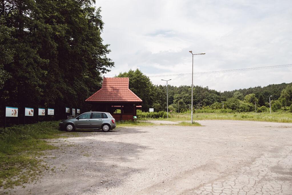 Parking przy Dolinie Aleksandrowickiej