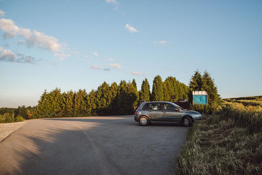 Parking przy Dolinie Będkowskiej