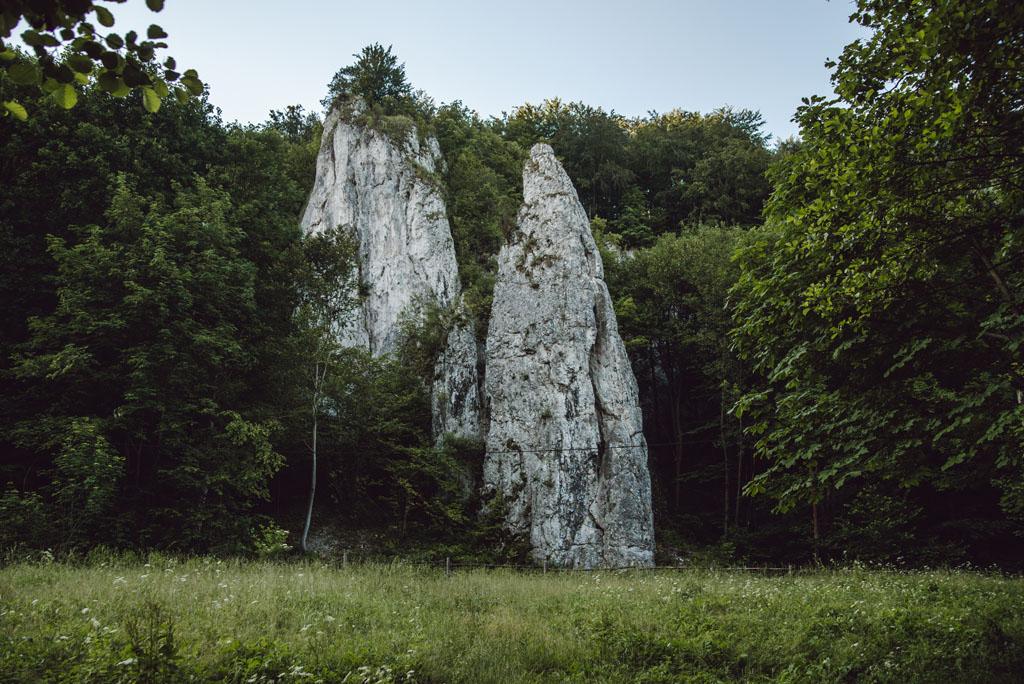 Skała Iglica w Dolinie Będkowskiej