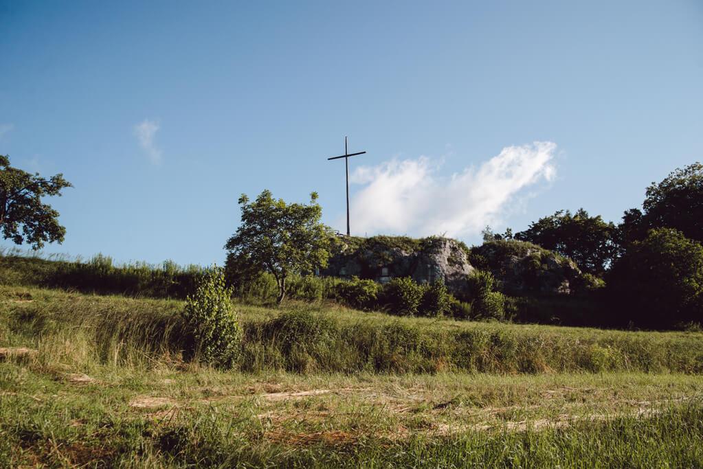 Skała krzyż