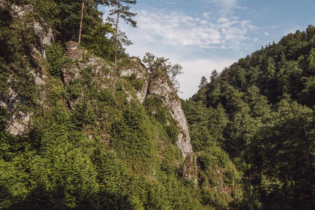 Skały w Dolince Mnikowskiej