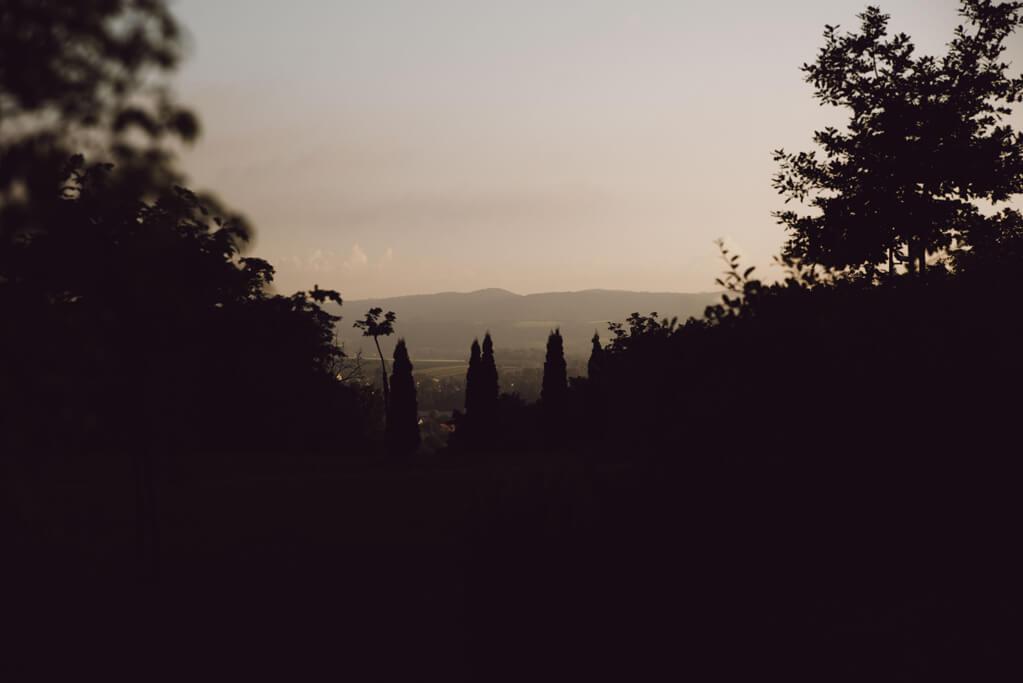 Wschód słońca w Nielepicach