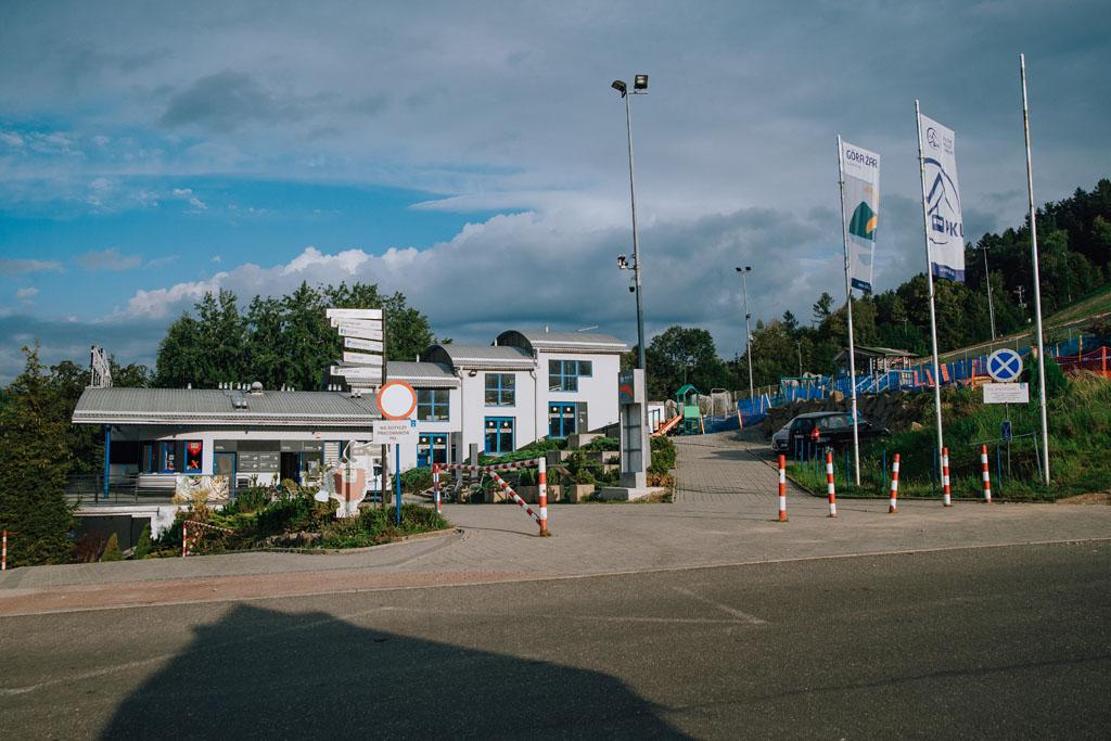 Dolna stacja kolejki na Górę Żar