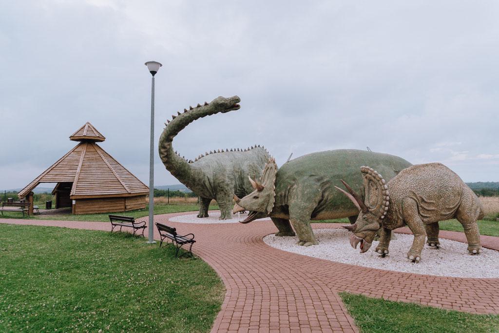 Atrakcją turystyczną Podkarpacia dla dzieci są dinozaury