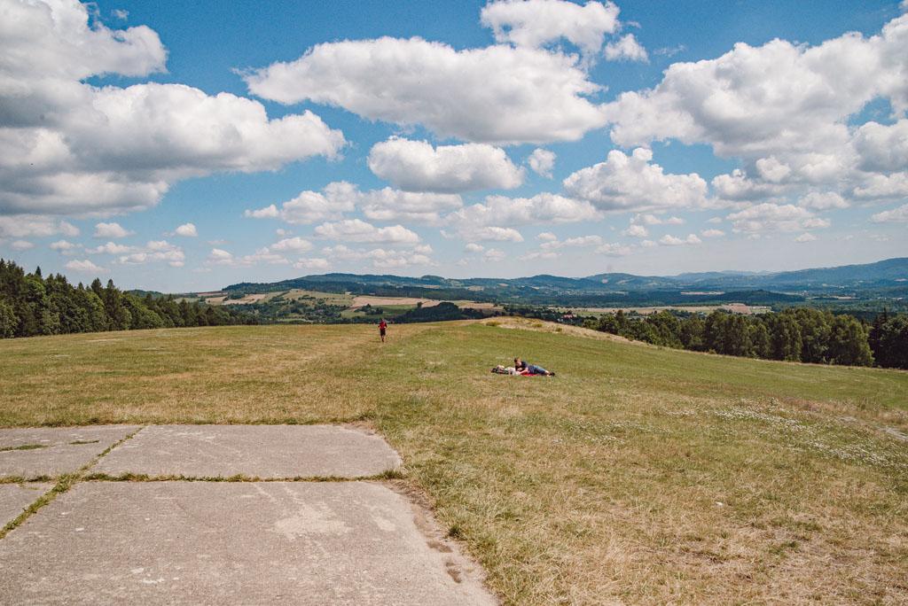 Widoki z Szybowcowej Góry na Rudawy Janowickie