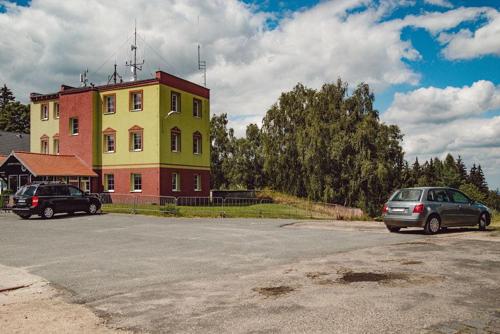 Góra Szybowcowa - parking