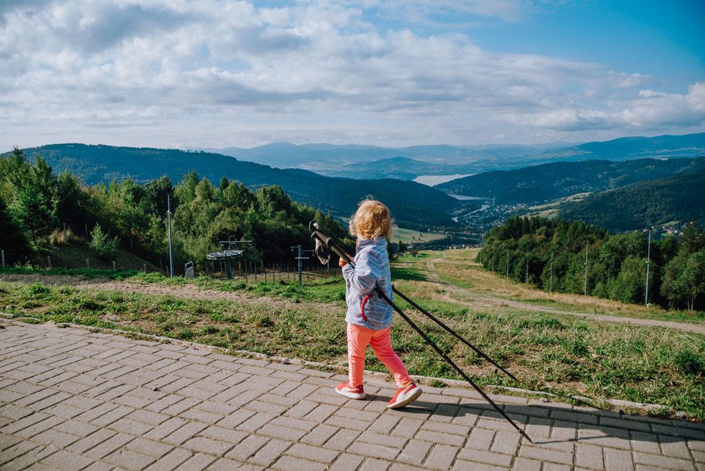 Góra Żar - dziecko