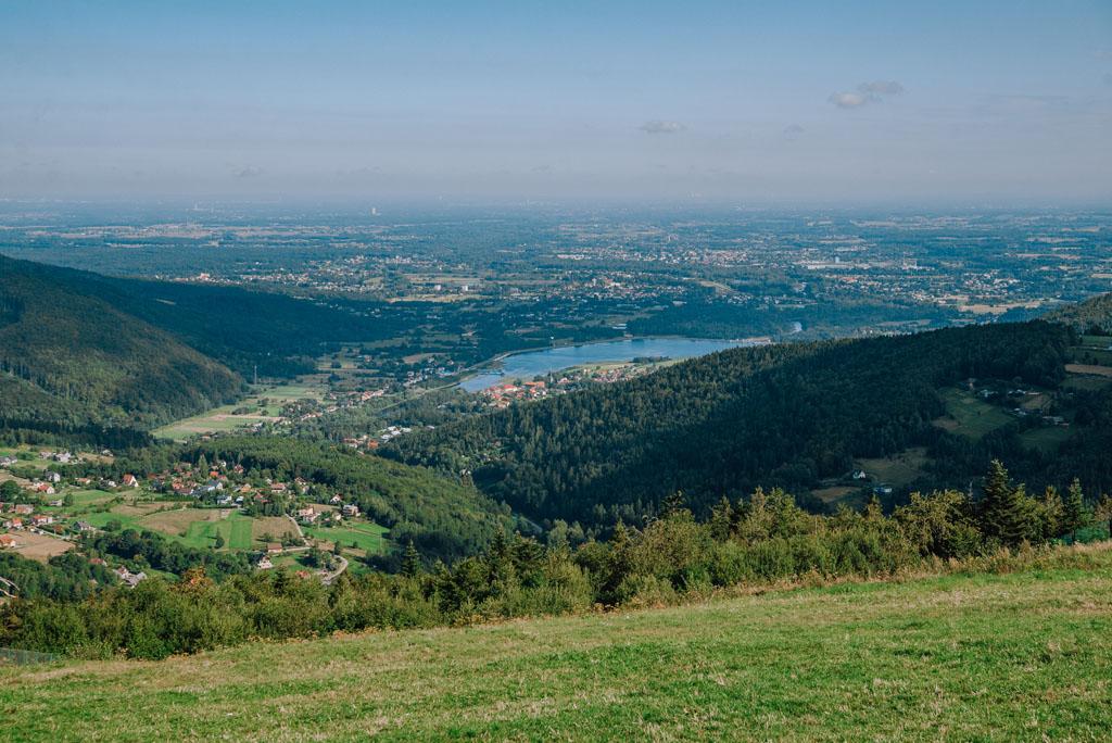 Góra Żar - widok na północ