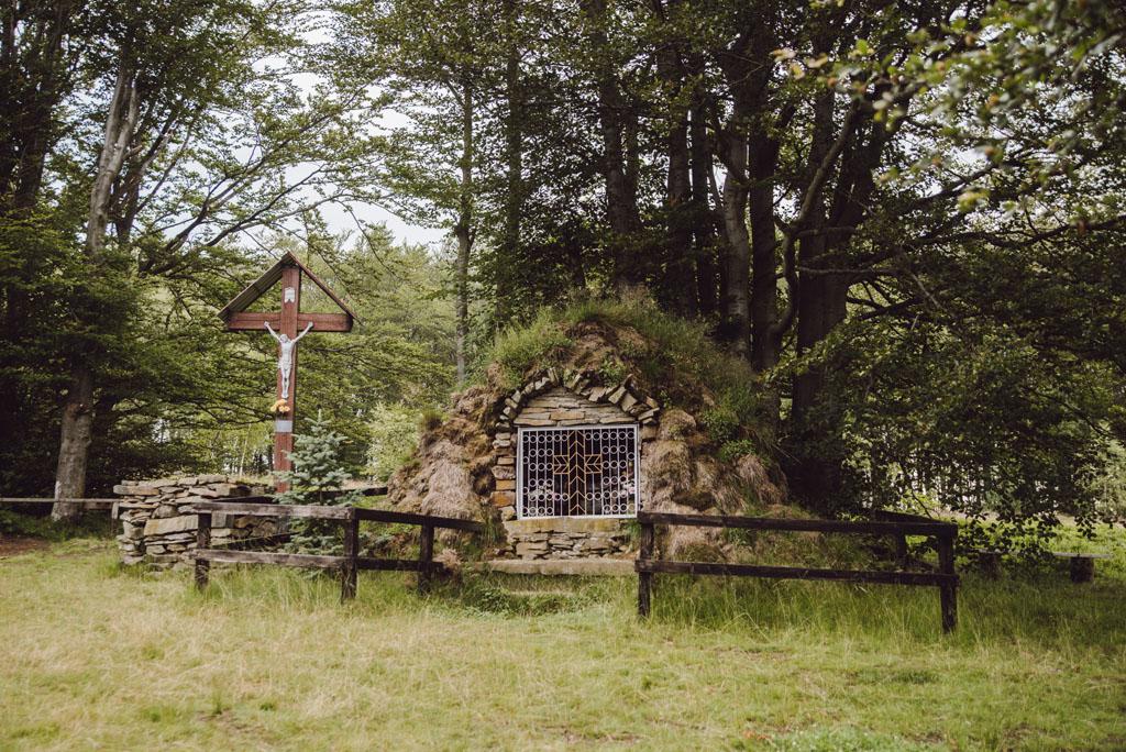 Kapliczka na Jaworzynie Kokuszczańskiej