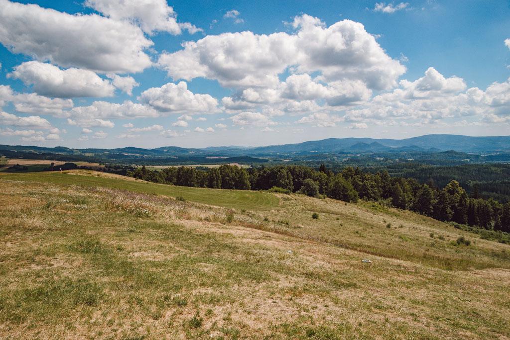 Górski krajobraz z Szybowcowej Góry