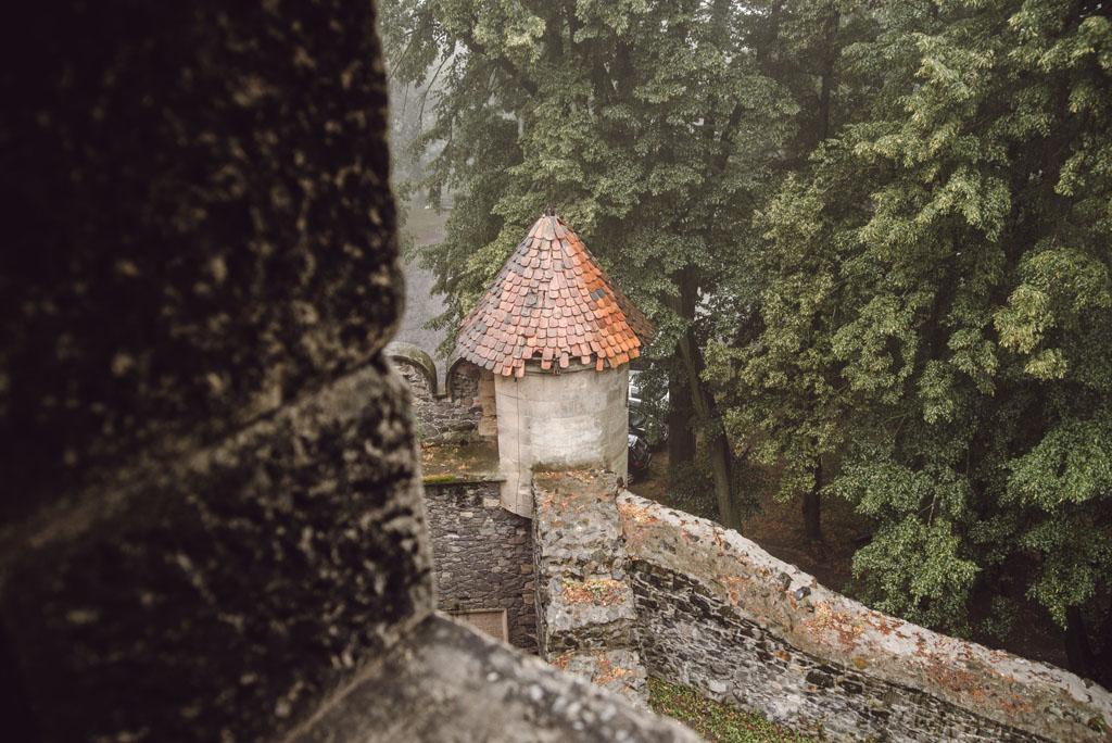 Mury obronne na Zamku Grodziec