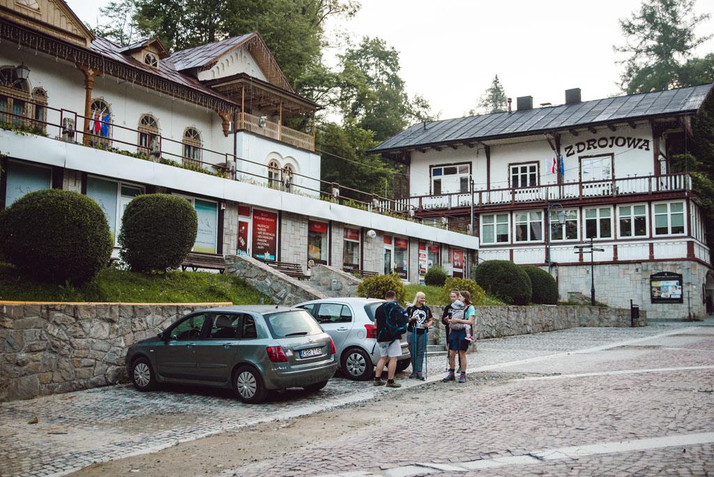 Szczawnica - parking