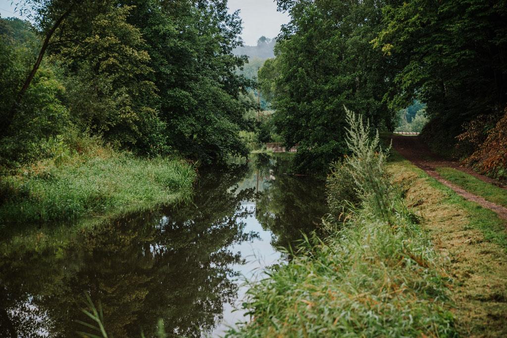 Potok Kaczawa w Sędziszowej