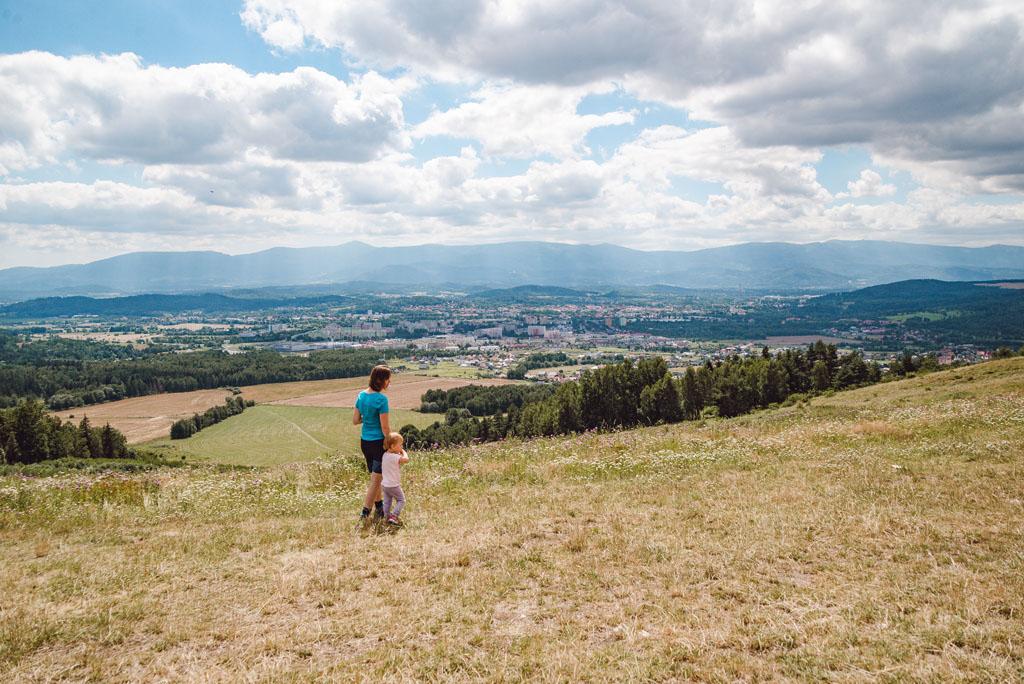 Widok na Jelenią Górę z Góry Szybowcowej