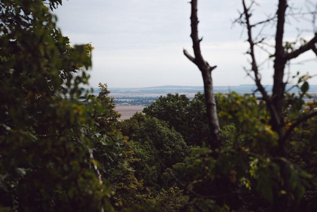 Widoki ze Wzgórza Rataj