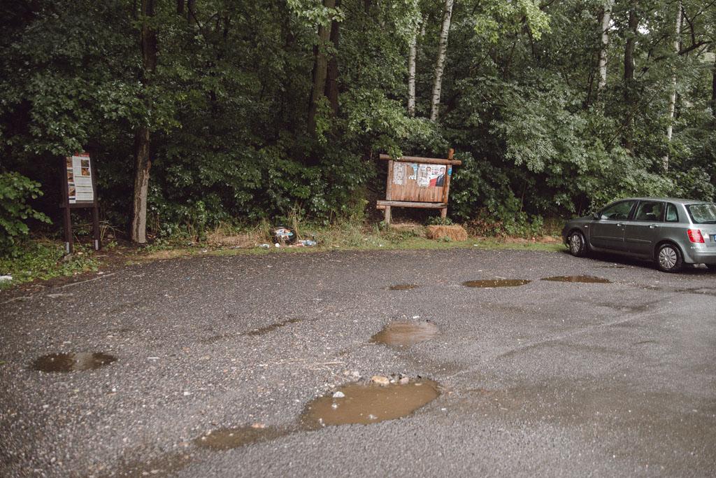 Parking pod Wilczą Górą