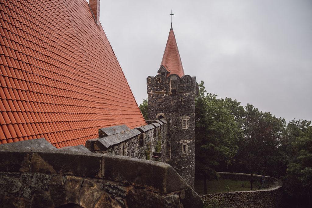 Zamek Grodziec - baszta