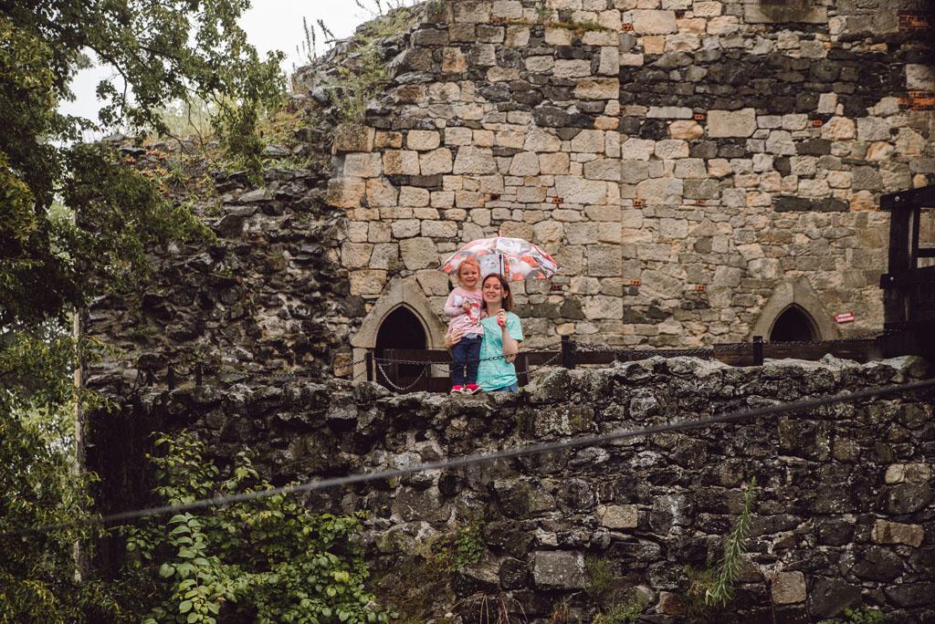Zamek Grodziec - wycieczka z dzieckiem