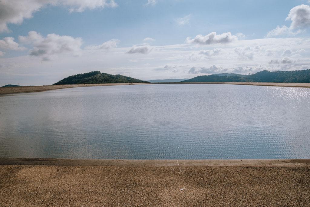 Zbiornik wodny na Górze Żar