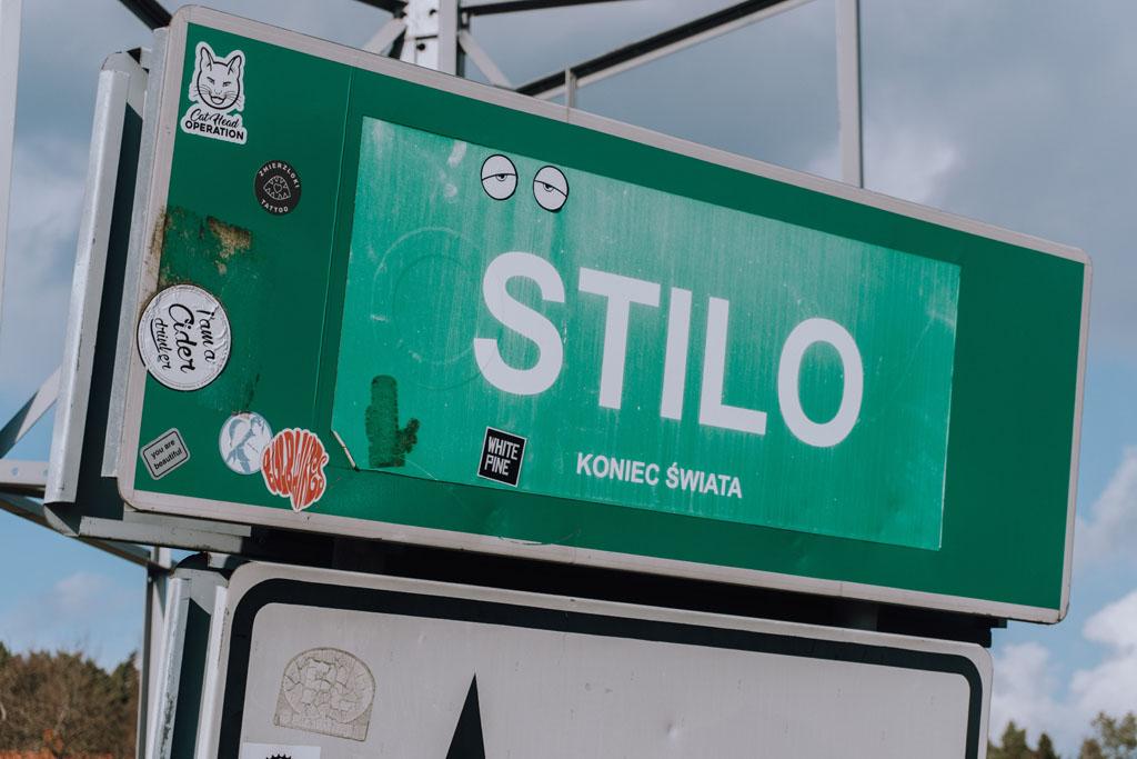 Znak miejscowości Stilo