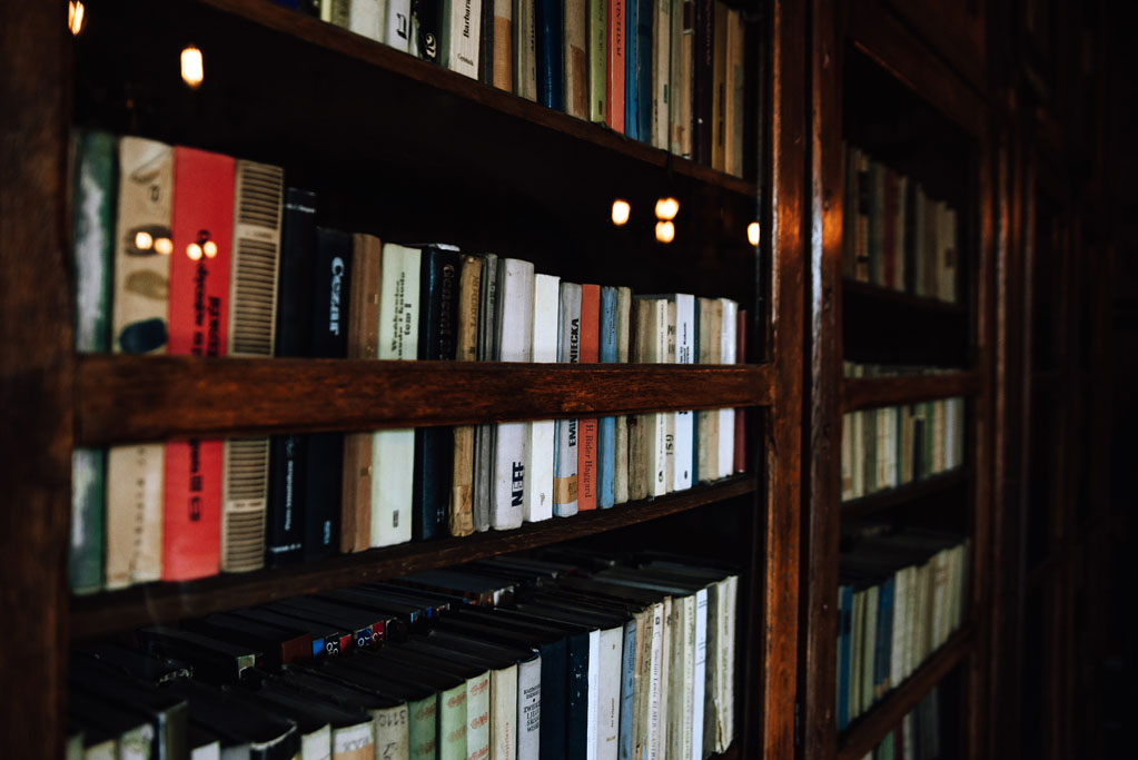 Biblioteka na zamku