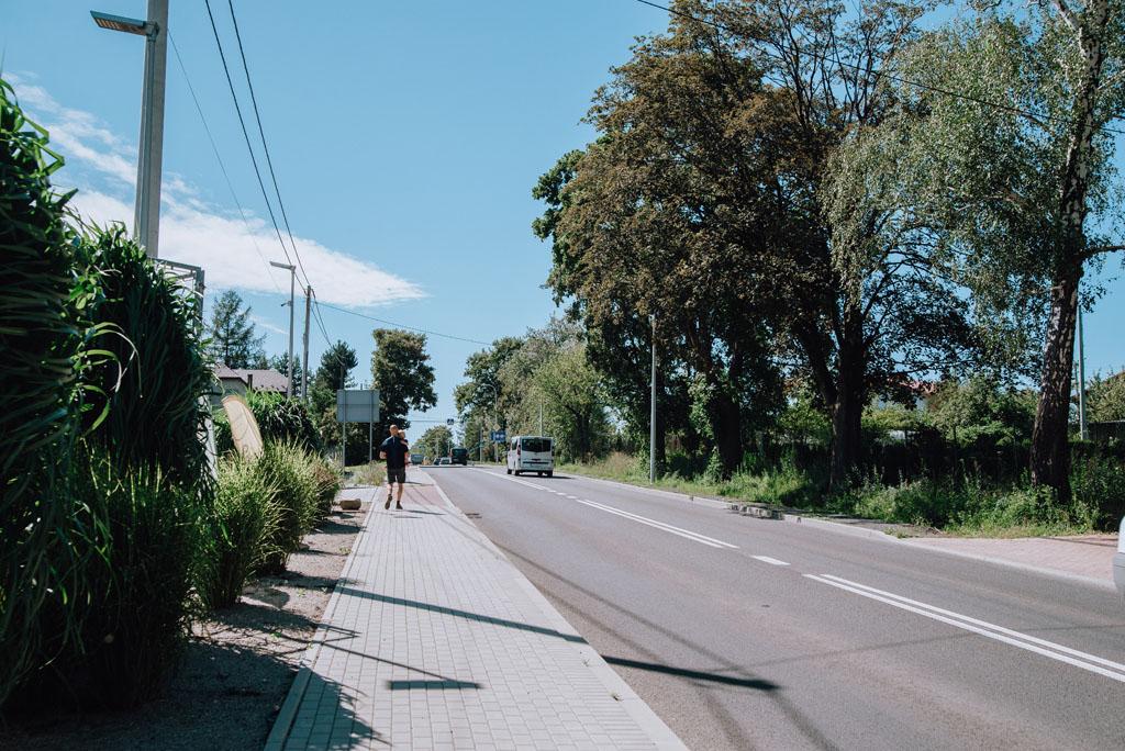 Dojście z Kóz do Bielska-Białej