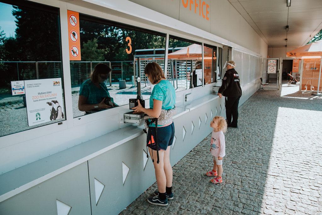 Kasy biletowe w ZOO we Wrocławiu